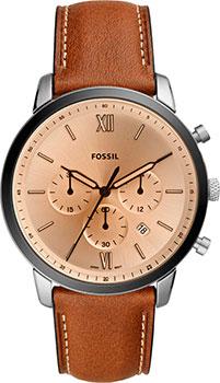 Наручные  мужские часы Fossil FS5627. Коллекция Neutra