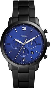 Наручные  мужские часы Fossil FS5698. Коллекция Neutra