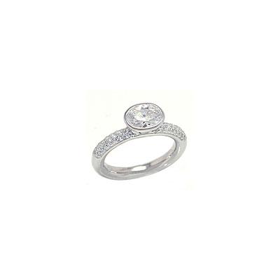Серебряное кольцо  303959
