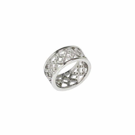 Серебряное кольцо  A12781OX