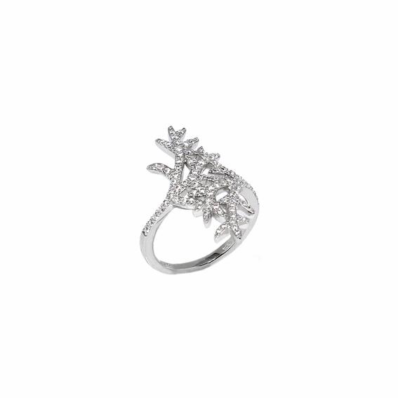 Серебряное кольцо  A13172OX