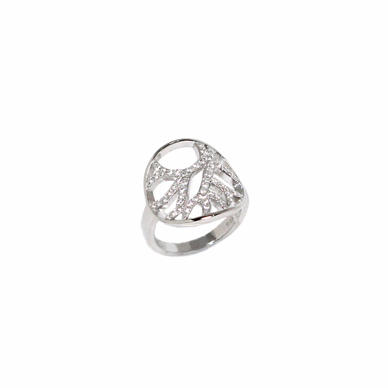 Серебряное кольцо  A13173OX