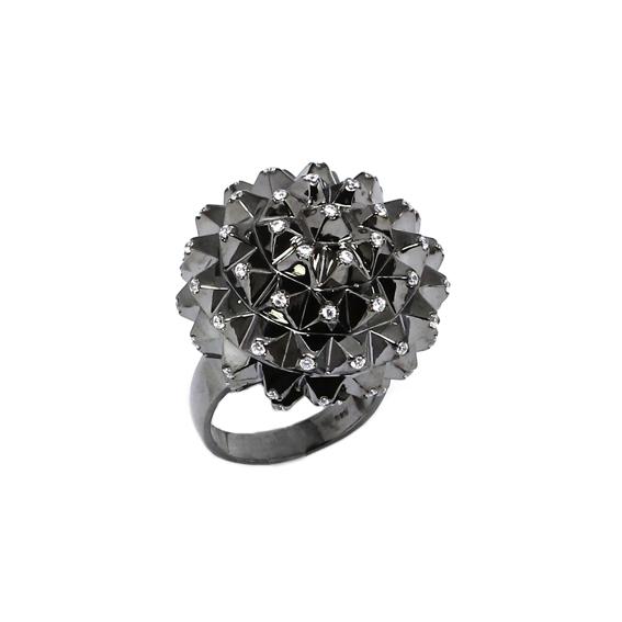 Серебряное кольцо  Ювелирное изделие A13189BR