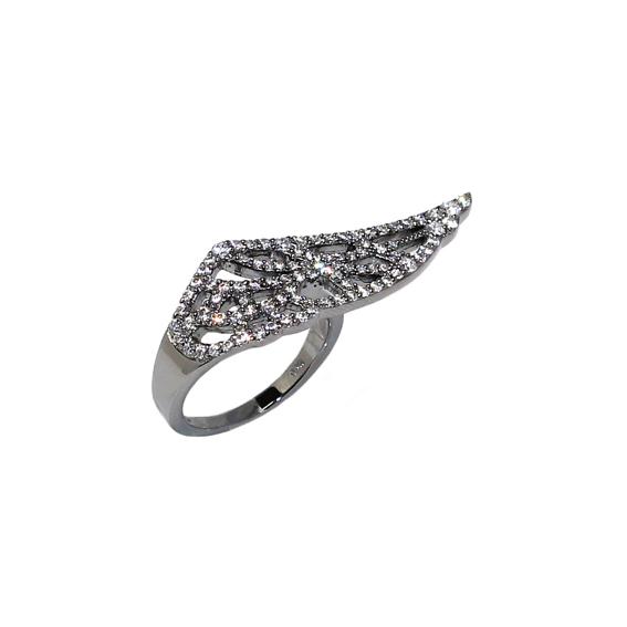 Серебряное кольцо  A13243XB