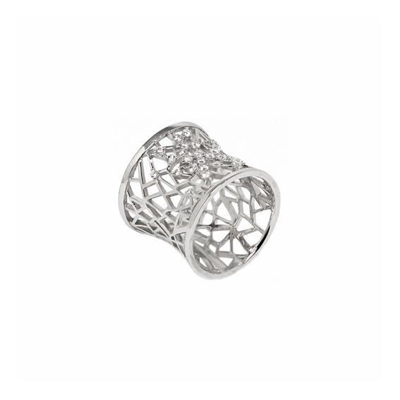 Серебряное кольцо  A13293OX