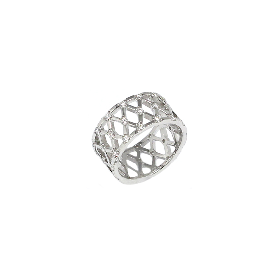 Серебряное кольцо  A13375OX
