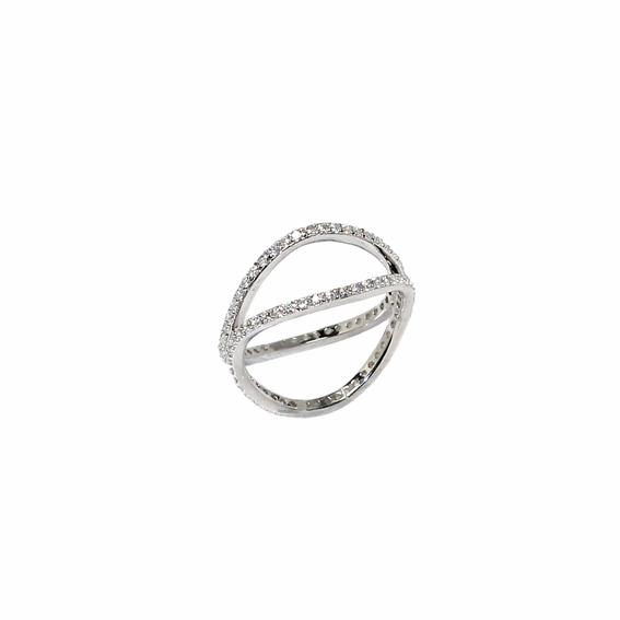 Серебряное кольцо  A13401OX