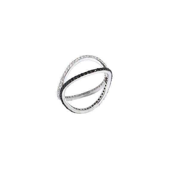 Серебряное кольцо  A13401XB