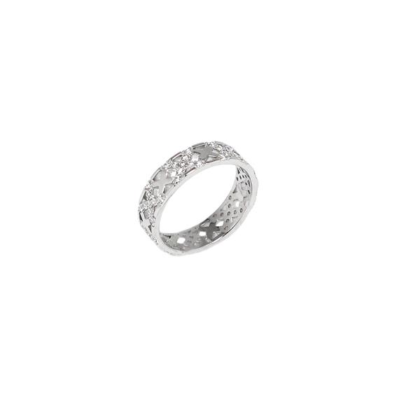 Серебряное кольцо  A13427OX