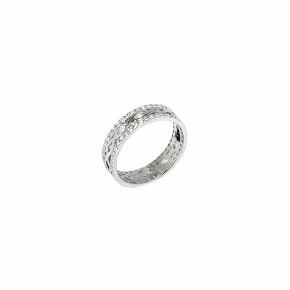 Серебряное кольцо  A13428OX