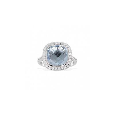 Серебряное кольцо  A13824TB
