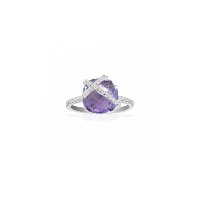Серебряное кольцо  A13825AM