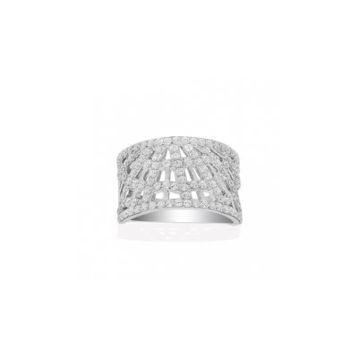 Серебряное кольцо  A13845OX