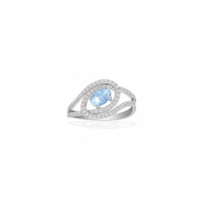 Серебряное кольцо  A14128TB