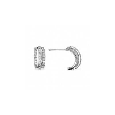 Серебряные серьги  AE7163OX