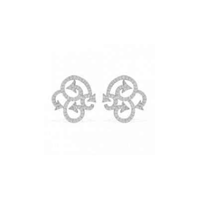 Серебряные серьги  AE7306OX