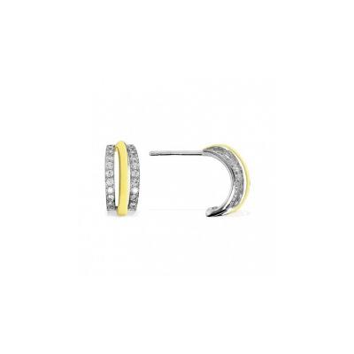 Серебряные серьги  Ювелирное изделие BE7523OX