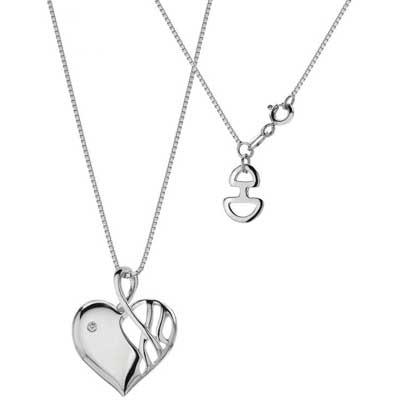 Серебряные кулоны в виде сердца - Самые лучшие кулончики только тут.