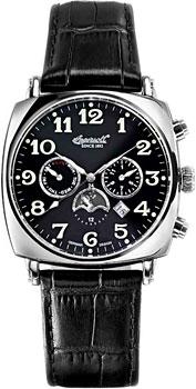 fashion наручные  мужские часы Ingersoll IN1211BK. Коллекция Automatic Gent от Bestwatch.ru