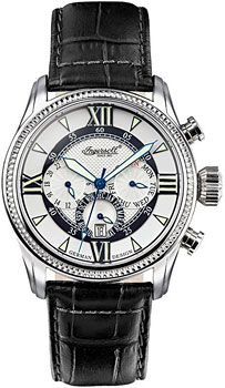fashion наручные  мужские часы Ingersoll IN3213BK. Коллекция Automatic Gent от Bestwatch.ru