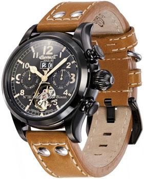 fashion наручные  мужские часы Ingersoll IN4506BBK. Коллекция Bison от Bestwatch.ru