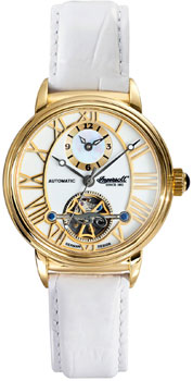 fashion наручные  женские часы Ingersoll IN5004GWH. Коллекция Automatic Lady от Bestwatch.ru