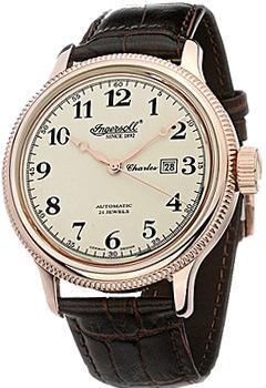fashion наручные  мужские часы Ingersoll IN8004RCR. Коллекция Automatic Gent от Bestwatch.ru