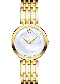 Швейцарские наручные женские часы Movado 0607054. Коллекция Esperanza фото