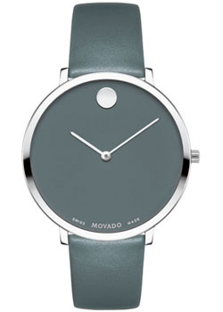 Швейцарские наручные  женские часы Movado 0607144. Коллекция Ultra Slim 70th Anniversary