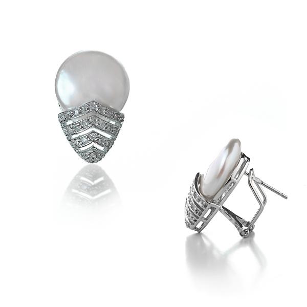 Серебряные серьги NP1140
