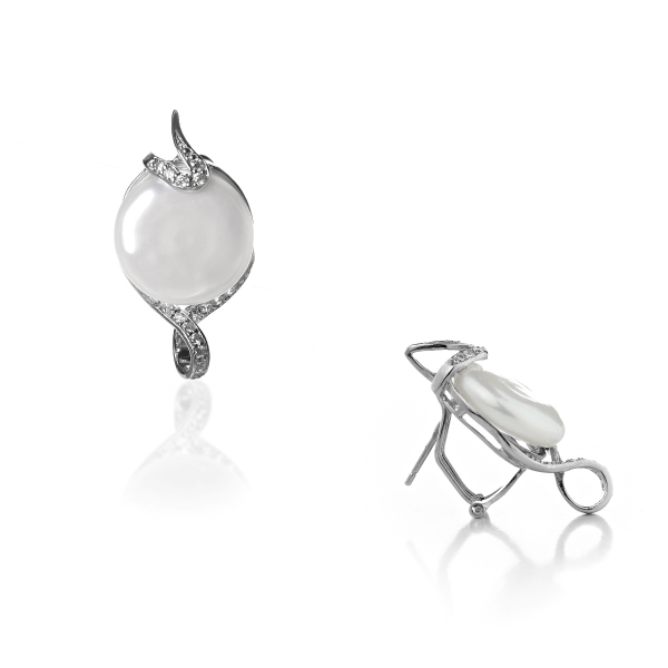 Серебряные серьги NP1141