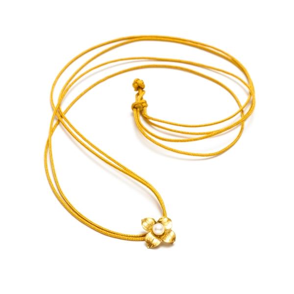 Золотое колье  NP2451