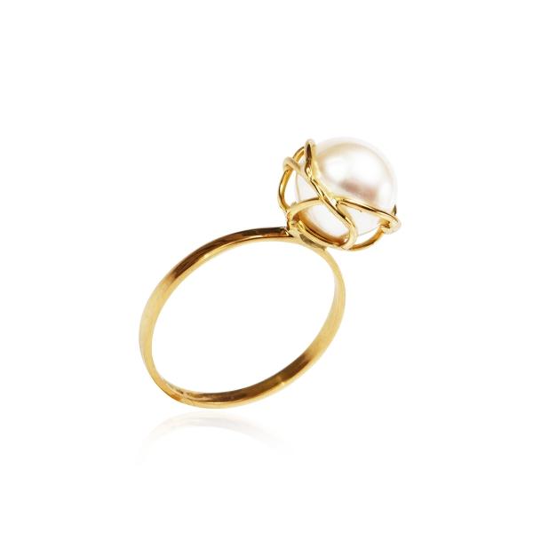 Золотое кольцо NP2709 фото