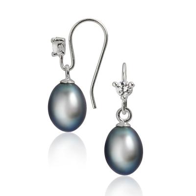 Серебряные серьги  NP622