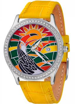 Российские наручные  женские часы Nika 9112.2.9.80A. Коллекция Серебряные витражи