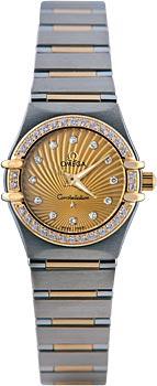 Швейцарские наручные  женские часы Omega 111.25.23.60.58.001