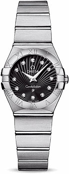 Швейцарские наручные женские часы Omega 123.10.24.60.51.001