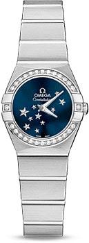 Швейцарские наручные женские часы Omega 123.15.24.60.03.001
