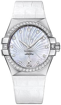 Швейцарские наручные женские часы Omega 123.18.35.20.55.001