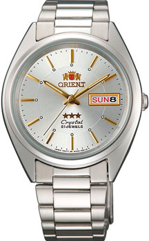 Японские наручные  мужские часы Orient AB00006W. Коллекция Three Star от Bestwatch.ru