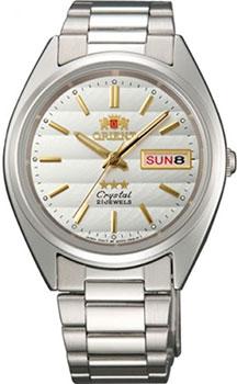 Японские наручные мужские часы Orient AB00007W. Коллекция Three Star фото