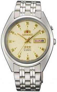 Японские наручные  мужские часы Orient AB00009C. Коллекция Three Star