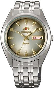 Японские наручные мужские часы Orient AB00009P. Коллекция Three Star фото