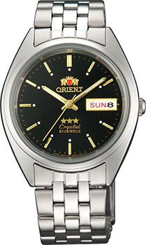 Японские наручные мужские часы Orient AB0000AB. Коллекция Three Star фото