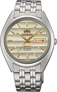 Японские наручные мужские часы Orient AB0000DC. Коллекция Three Star фото