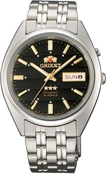 Японские наручные  мужские часы Orient EM0401PB. Коллекция Three Star Японские наручные  мужские часы Orient EM0401PB. Коллекция Three Star