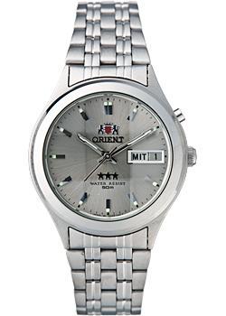 Японские наручные  мужские часы Orient EM5V002K. Коллекция Three Star