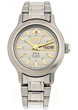 Японские наручные  женские часы Orient NQ05004K. Коллекция Three Star
