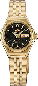 Японские наручные  женские часы Orient NQ1S001B. Коллекция Three Star