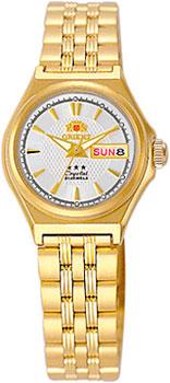 Японские наручные  женские часы Orient NQ1S001W. Коллекция Three Star